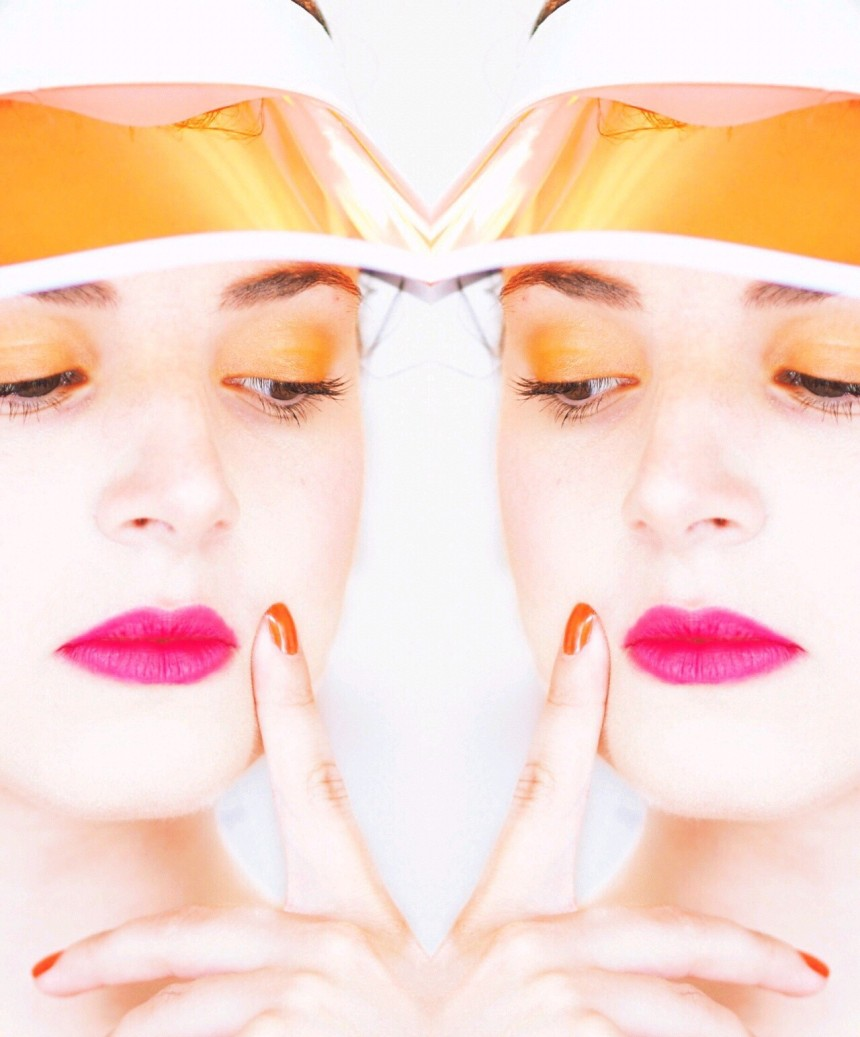 Orange Pinkes Make Up